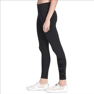 DKNY sport High waisted logo legging sz M